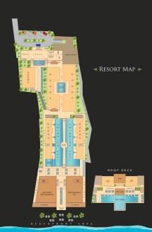 Henann Crystal Sands Resort Maps