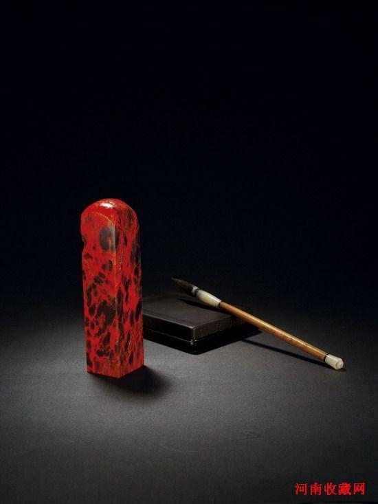 印石皇后—雞血石-河南收藏網