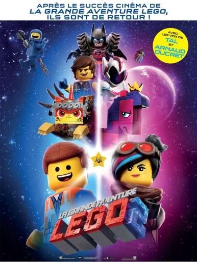 Affiche film La grande aventure Lego 2