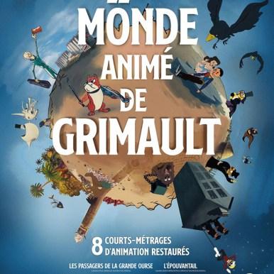 Affiche du film Le monde animé de Grimault