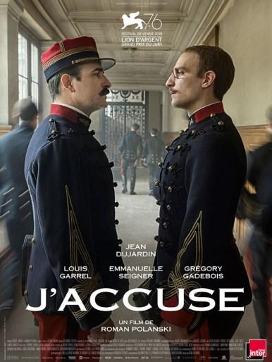 Affiche du film J'accuse