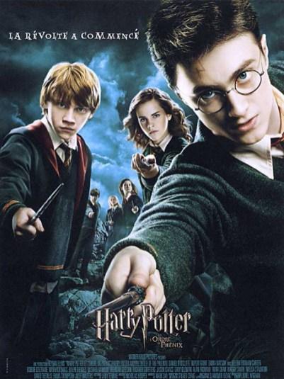 Affiche du film Harry Potter et l'ordre du Phénix - 5