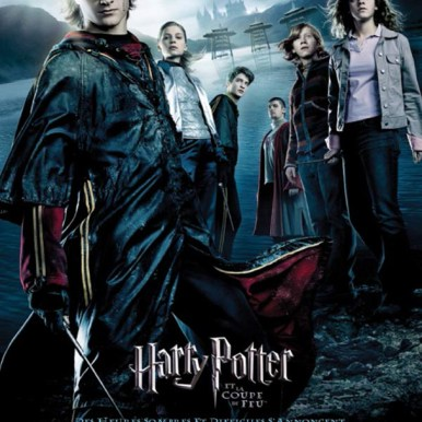Affiche du film Harry Potter et la coupe de feu - 4