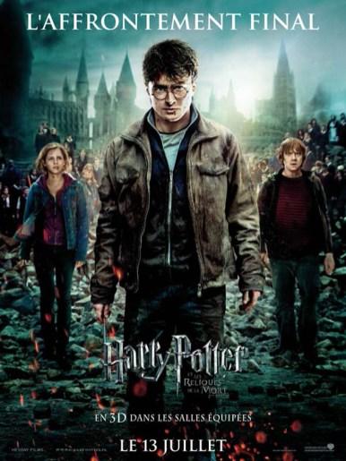 Affiche du film Harry Potter les reliques de la mort 2 - 8