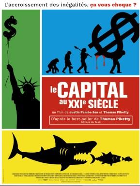 Affiche du film Le capital au XXIème siècle