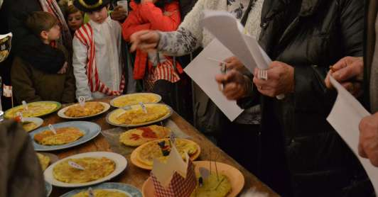 Concours d'omelette jury