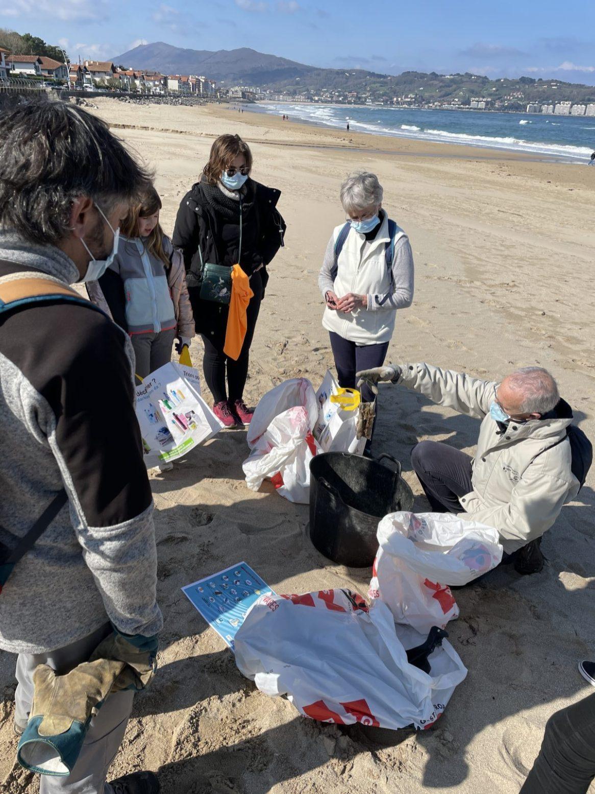nettoyage des plages 2021 - Deux jumeaux tri Ganix 4