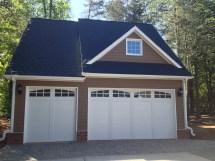 Detached 3 Car Garage Plans with Loft