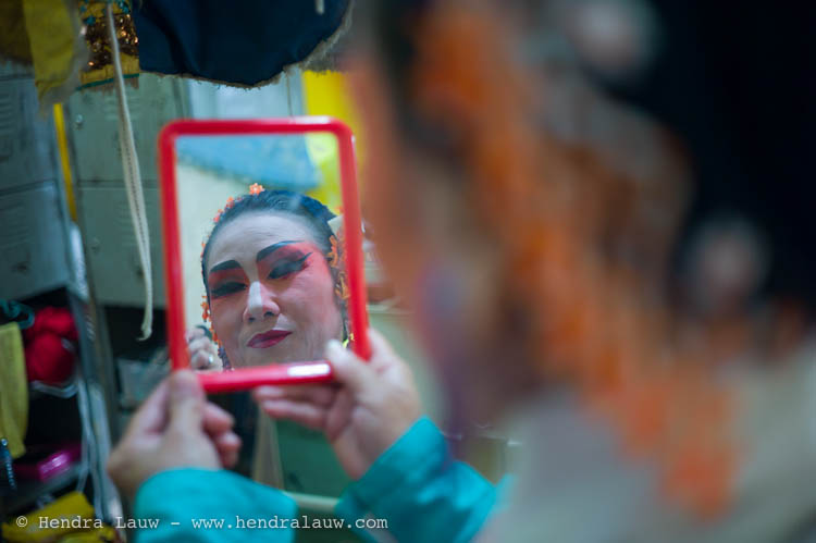 Chinese Opera – Backstage Shots