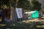 Preparations for the housing protest in Suurbraak