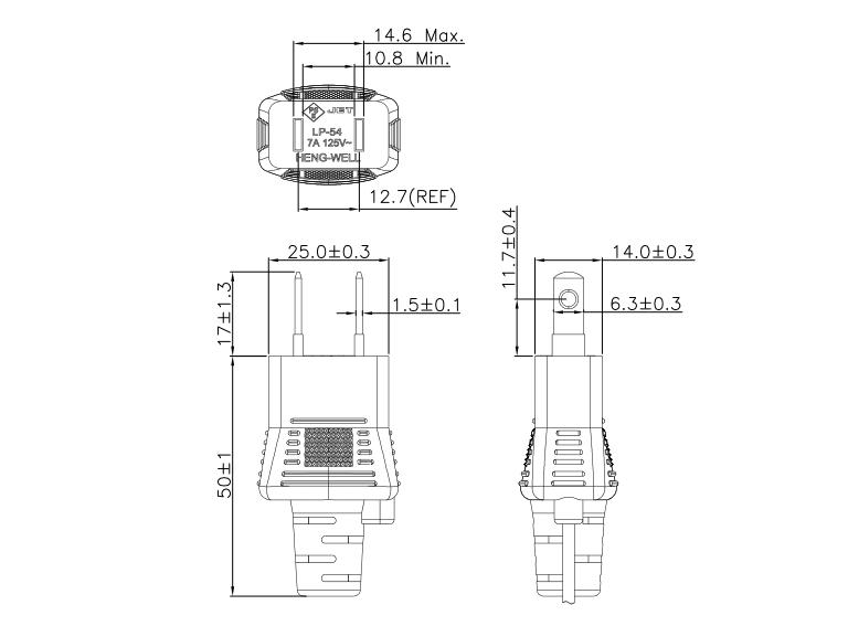 Model:LP-54_Shenzhen HENG-WELL Electric Co., Ltd.