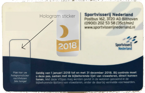 NachtVISpas-sticker
