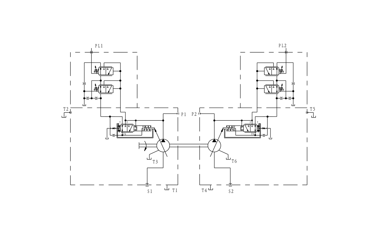 hight resolution of new hp5v series pump saving more energy for mobile cranes