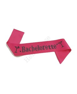 Bachelorette Hot Pink Sash