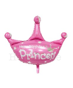 Birthday Princess Crown Balloon
