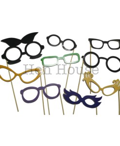 Glasses Photobooth Props