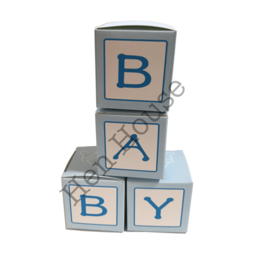 Baby Boy Favor Box