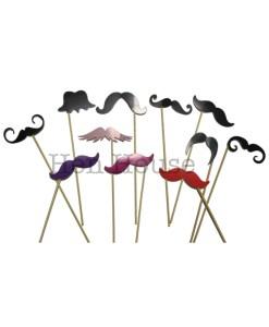 Mustache Photobooth Props
