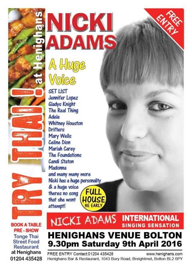 Nicki Adams