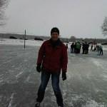 Blauwvingerwandeltocht of blauwe vingers schaatstocht
