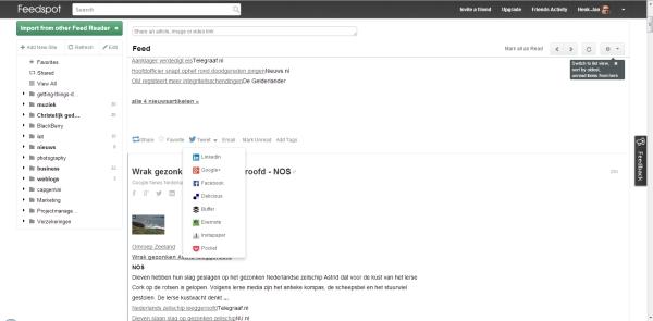 feedspot screenshot