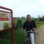 Fietsen in acht rond ster in Twente Haaksbergen