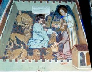 leeuwenkuil met profeten