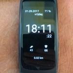 Op stap met de Samsung Gear Fit 2