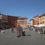 Wandelen langs bestuurlijk en kerkelijk Rome
