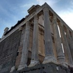 Forum Romanum, Basilica Santi Cosma e Damiano en binnenstad Rome