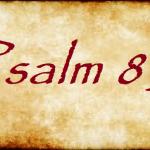 Psalm 85: Zijn glorie komt wonen in ons land