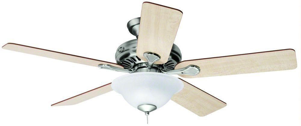 medium resolution of 062 hunter ceiling fan 24041 vista fan brushed nickel jpg