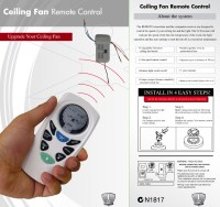 Lucci Universal Ceiling Fan Remote Control Pack