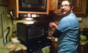 We got a new oven for Christmas!