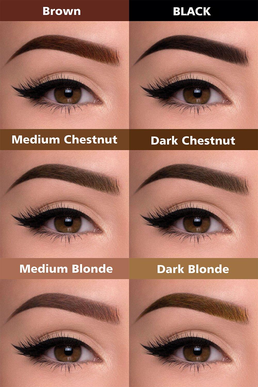 colors brazilian brows