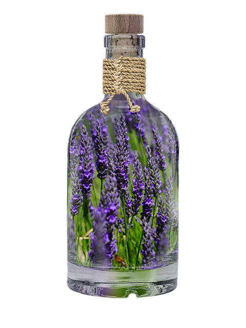 lavender in a bottle