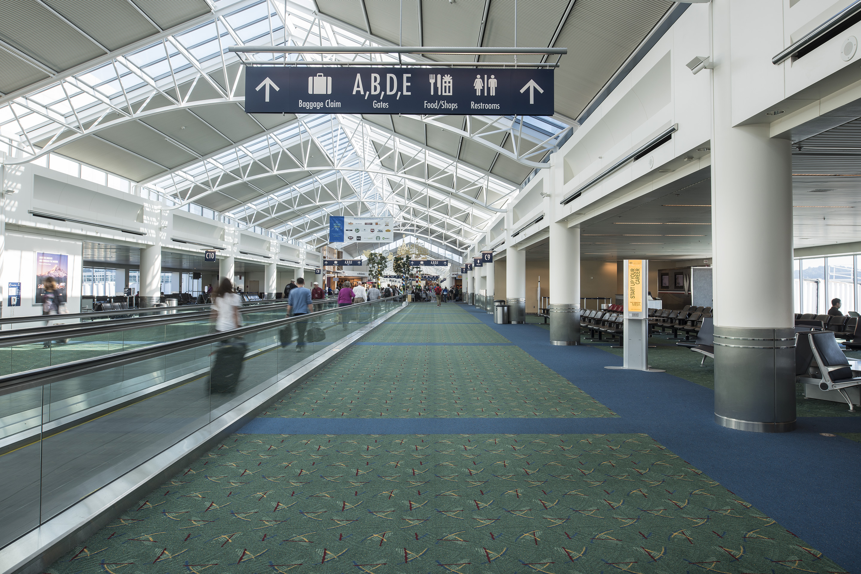 PDX Terminal Carpet Replacement  Hennebery Eddy  PDXcarpet