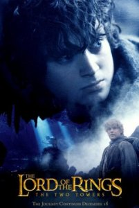 05 Frodo Blue 201x300 Властелин Колец   Постеры
