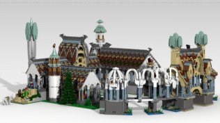 Фанатские LEGO локации из ВК и Хоббита!