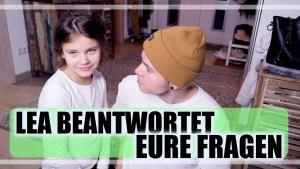 LEA BEANTWORTET EURE FRAGEN