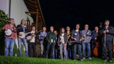 Teachers crew at Adiaha's Bluegrass Camp, Aschau, Germany, 2014