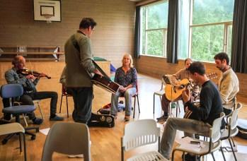 My slow jam class in Risor workshop, Norway 2013