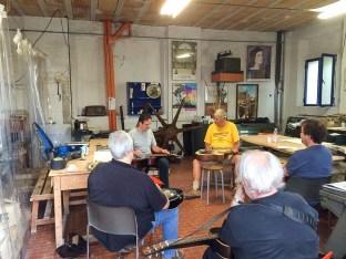 Teaching at Minieracoustica, Urbino, Italy ,2014