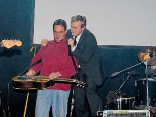 Dobrofest 2006 in Trnava, SK. Performance with famous Slovak pop band Vidiek
