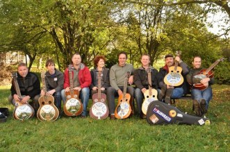 Dobro class at Male Svatonovice, CZ Bluegrass Workshop, 2011