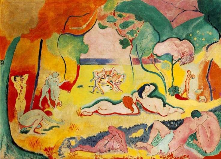 Joy of Life (Bonheur de Vivre), 1905 by Henri Matisse