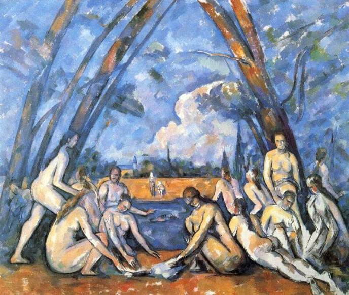 The Bathers, by Paul Cecanne