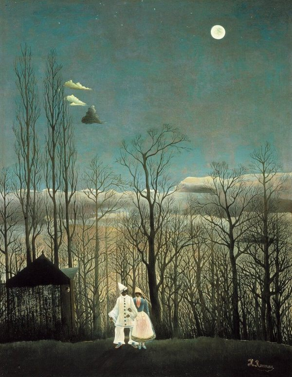 Carnival Evening 1886 Henri Rousseau