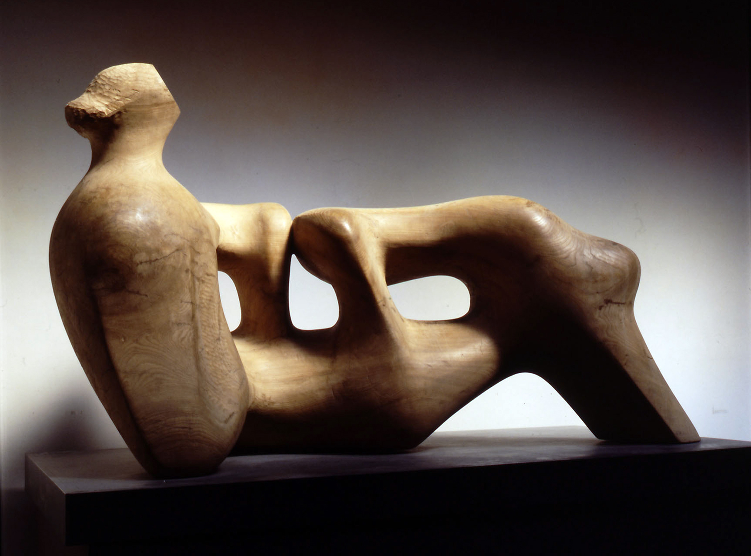 Henry Moore Sculpting From Nature