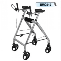 Foldable High Chairs Sanyo Massage Chair Forearm Support Walker Folding Heavy Duty With Hand Brakes Muw 180kg - Fore Arm Walkers ...